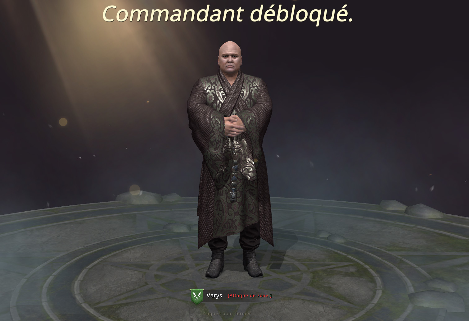 Nouveau commandant Varys