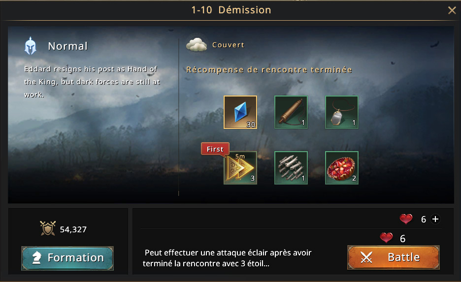 Episode 1-10 - Démission