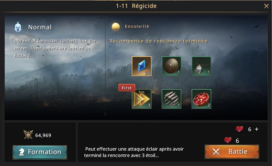 Episode 1-11 - Régicide