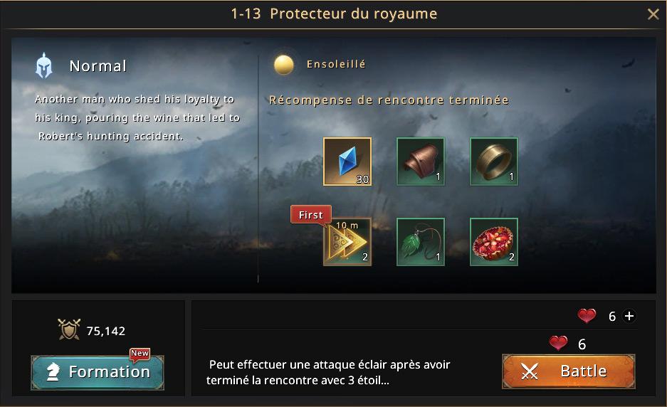 Episode 1-13 - Protecteur du roayume