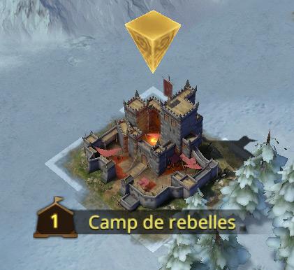 Camp de rebelles