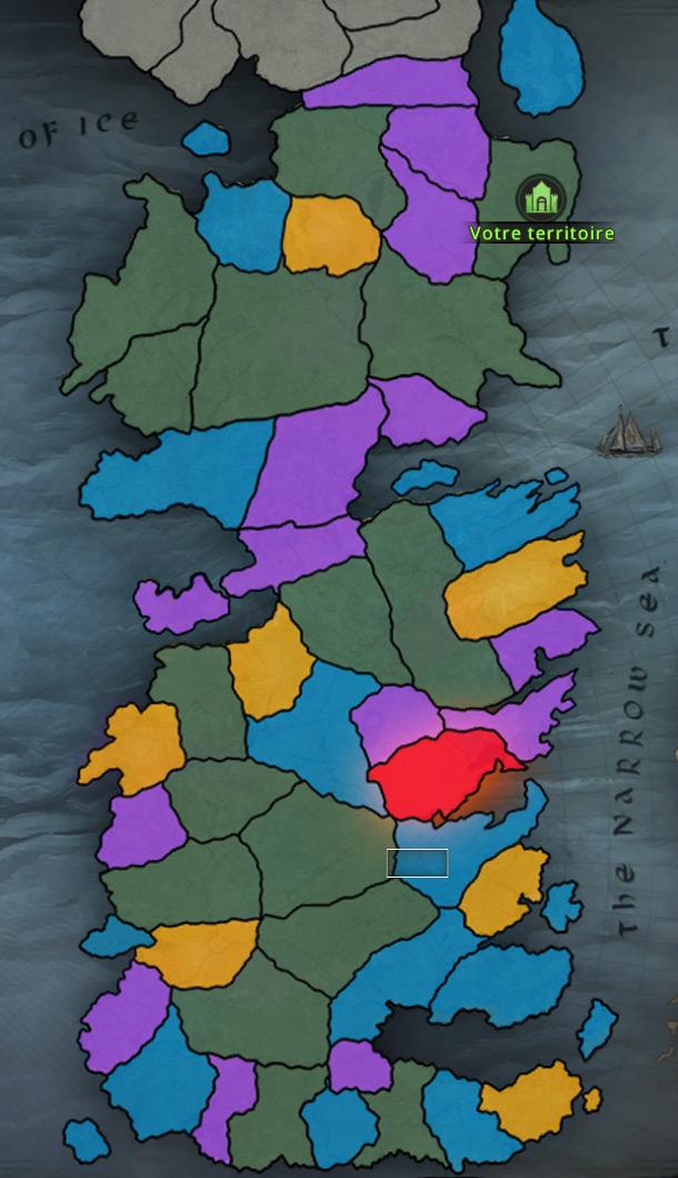 Carte des ressources