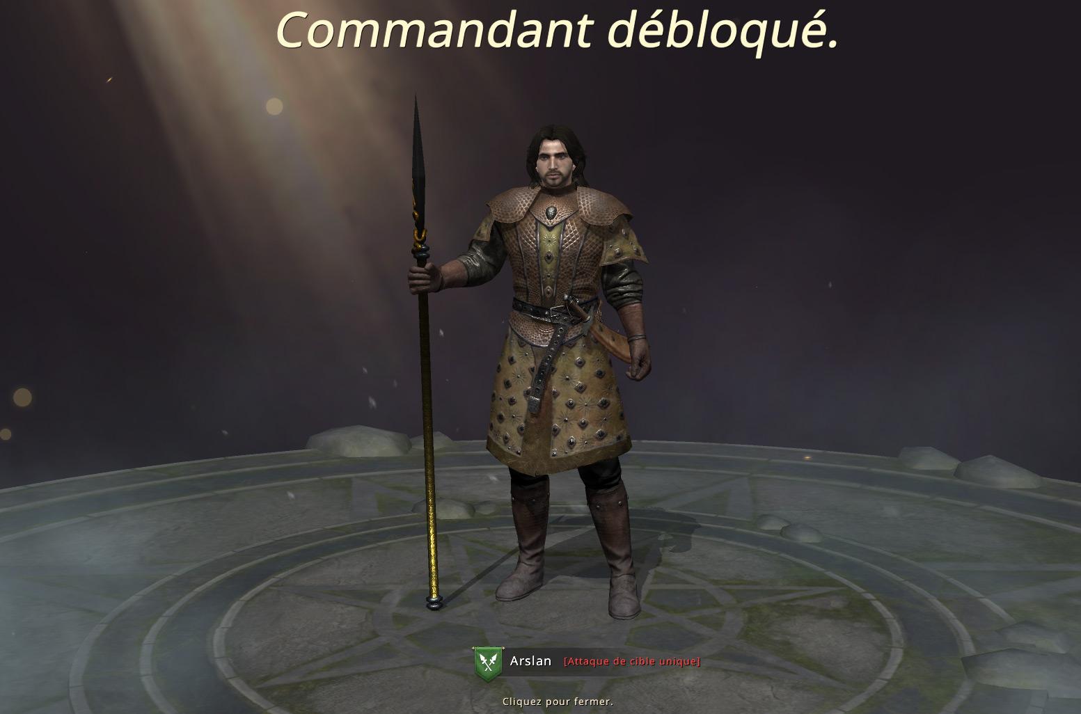 Nouveau commandant - Arslan