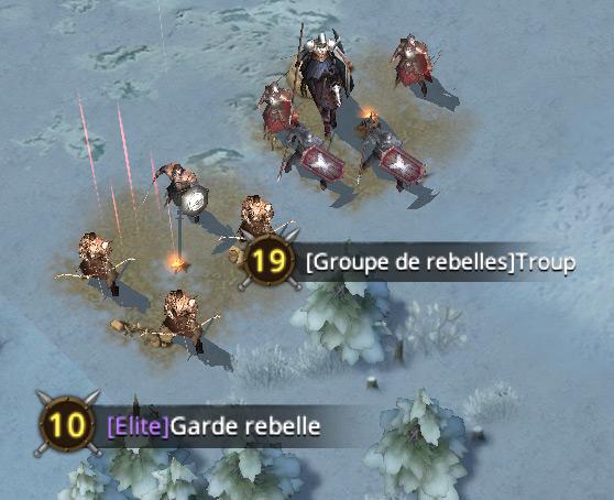 Groupes de rebelles