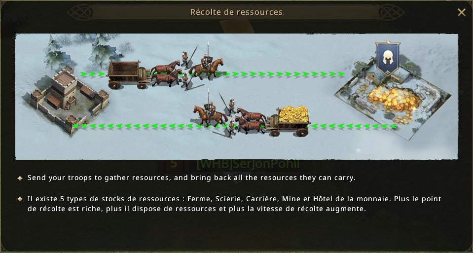 Tuto récolte de ressources