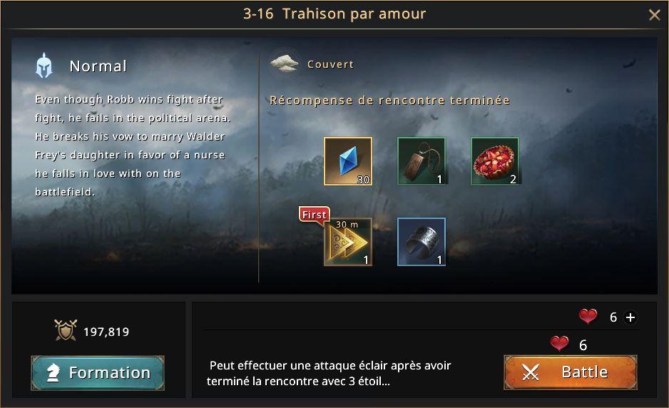 Episode 3-16 - Trahison par amour