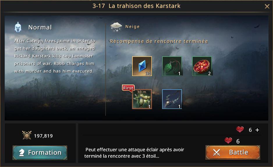 Episode 3-17 - La trahison des Karstark