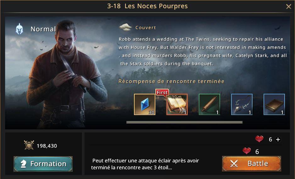 Episode 3-18 - Les Noces pourpres