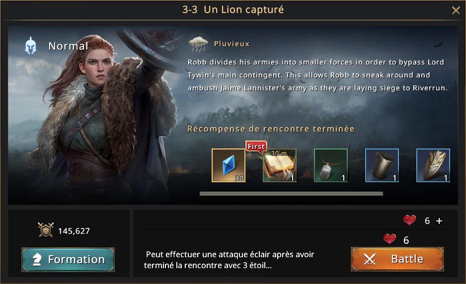 Episode 3-3 - Un lion capturé