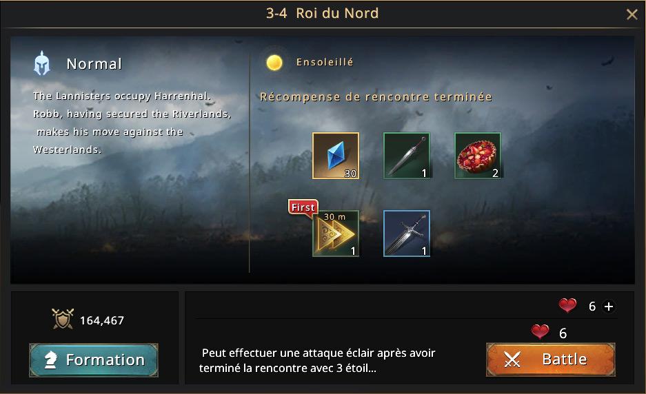 Episode 3-4 - Roi du Nord