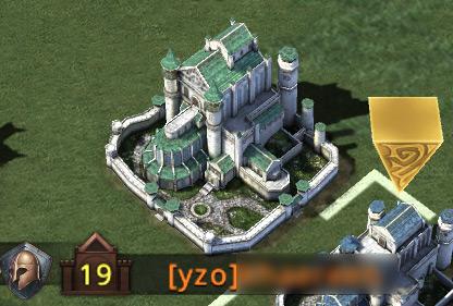 Représentation du château niveau 19