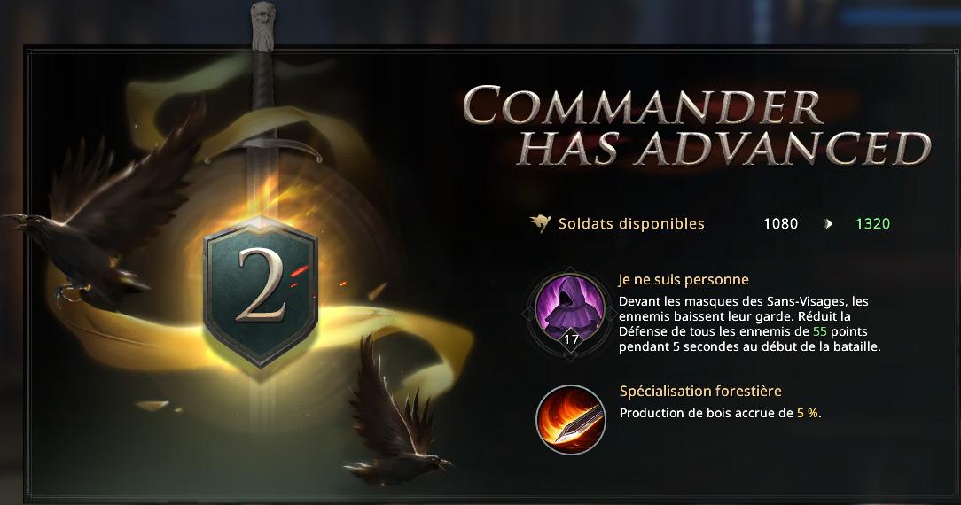 Commandant Arya niveau II