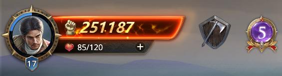 Commandant niveau 17