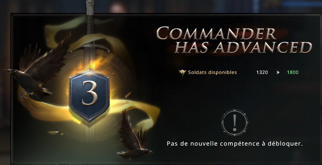 Commandant Sansa promu au rang III