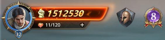 Lord niveau 32 avec 1512530 de prestige