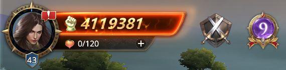 Lord niveau 43 avec 4119381 de prestiges