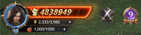 Lord niveau 44 avec 4838949 de prestige
