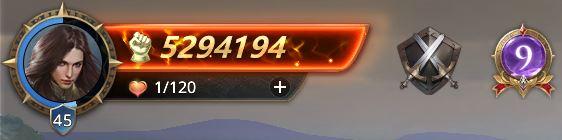 Lord niveau 45 avec 5294194 points de prestige