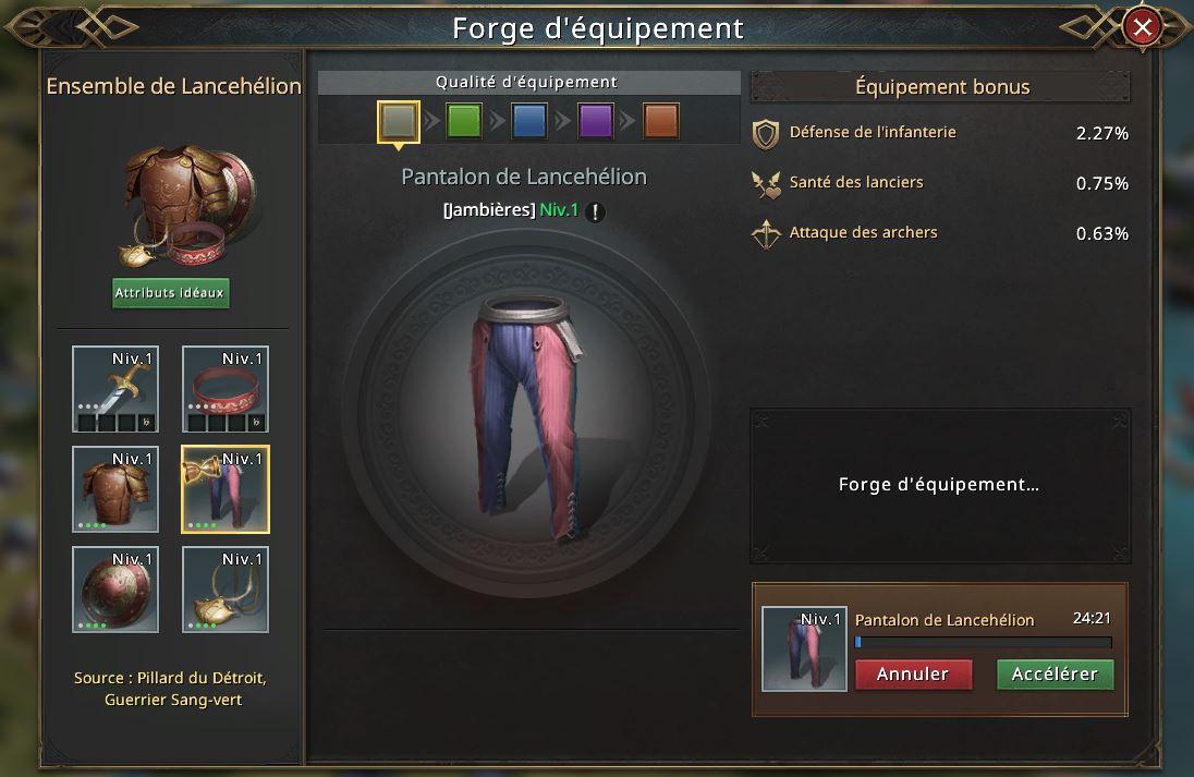 Pantalon de Lancehélion