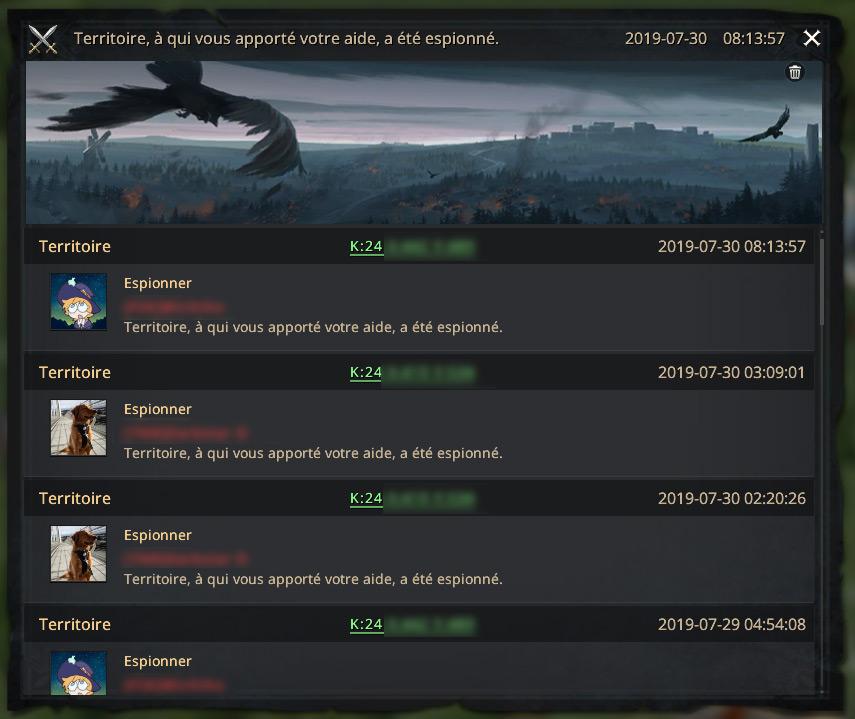 Rapport de protection
