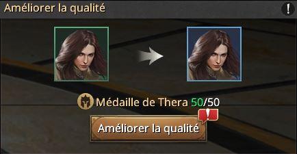 Evolution de Thera cadre bleu