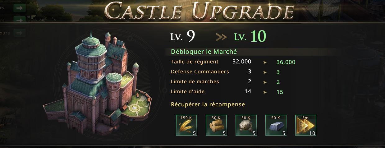 Château niveau 10