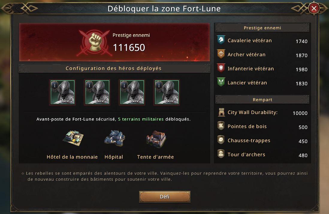Zone rebelle de Fort-Lune