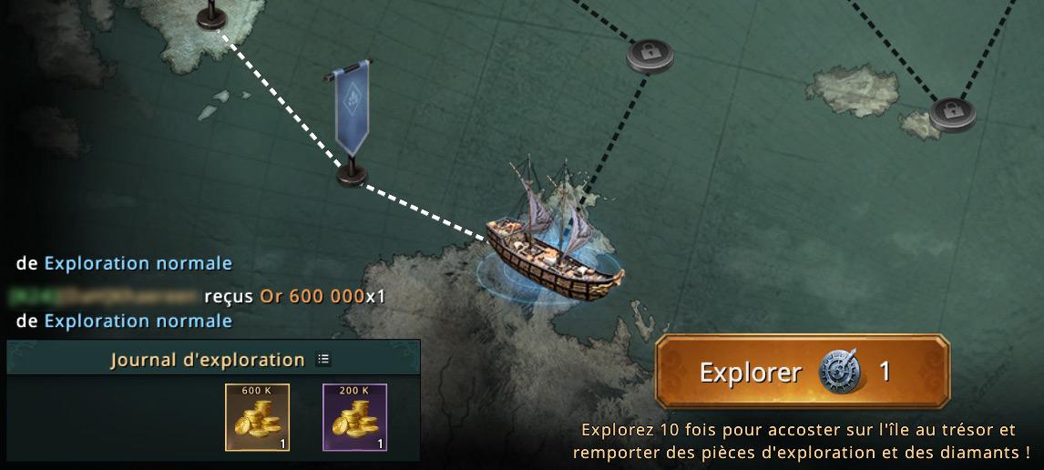 2e étape de la carte du navigateur