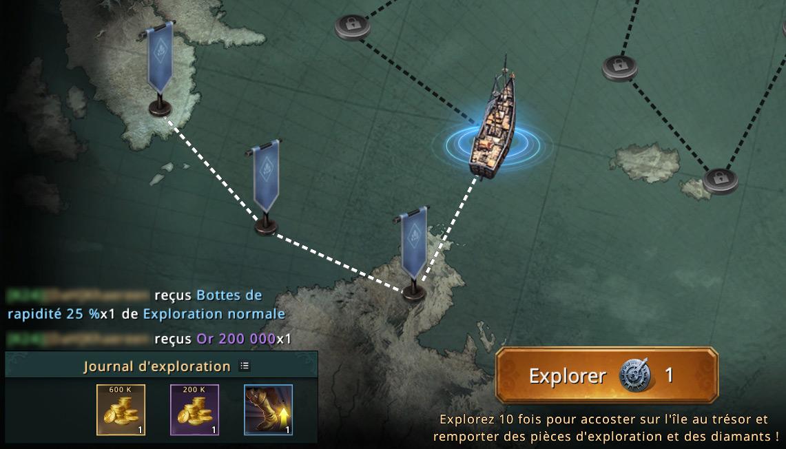 3e étape de la carte du navigateur
