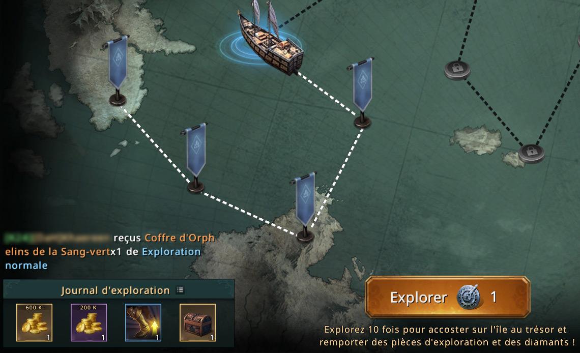 4e étape de la carte du navigateur