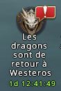 Icone retour des dragons notification