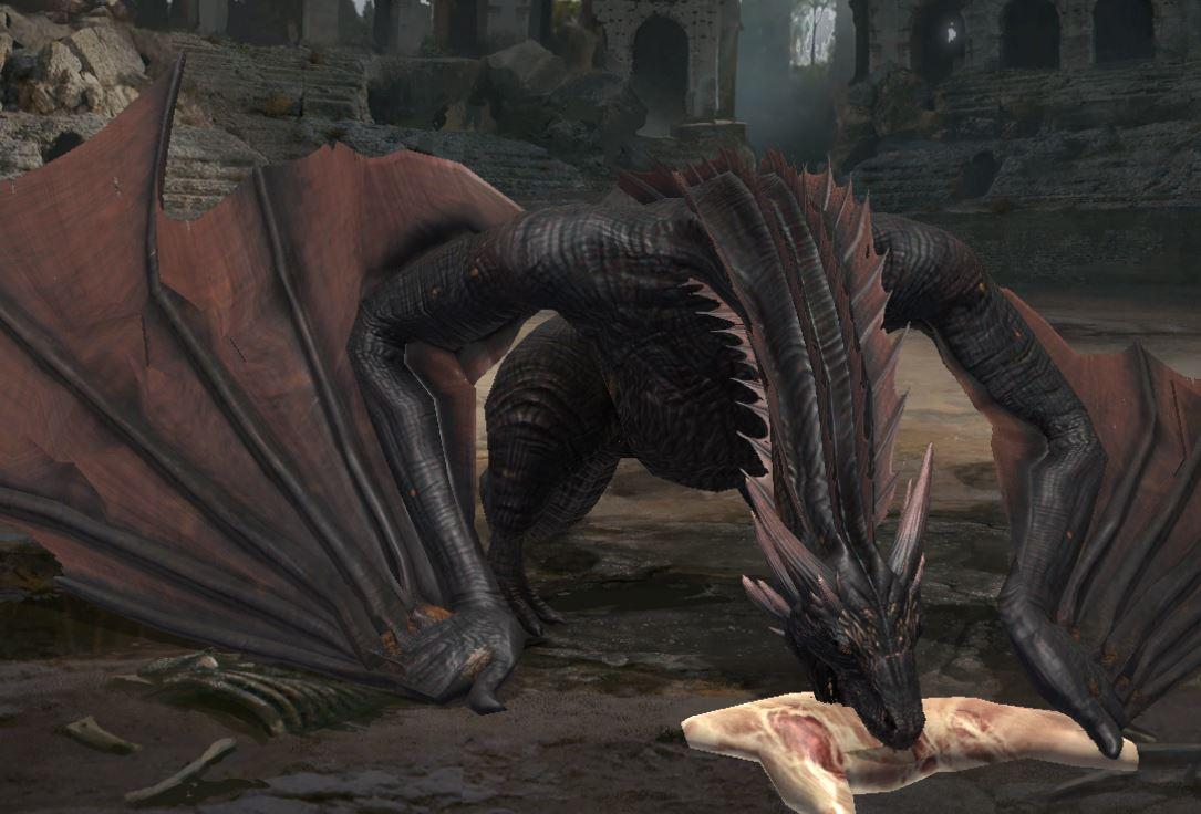 Nourrissage du dragon