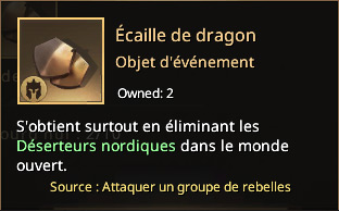 Écaille de dragon