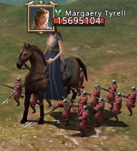 Barre de vie d'un personnage au début du combat