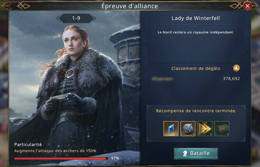 Lady de Winterfell