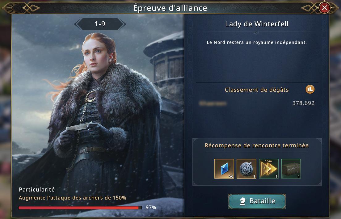 Lady de Winterfell