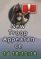 Nouvelle apparence des troupes