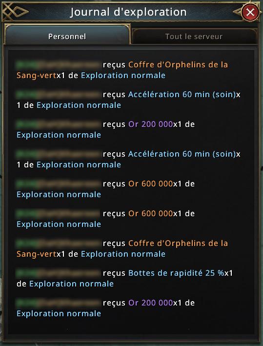 Journal d'exploration
