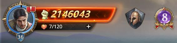 Lord niveau 36, 2146043 de prestige