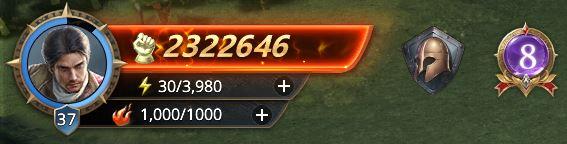 Lord niveau 37 avec 2322646 de prestige