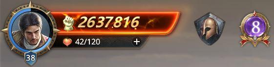 Lord niveau 38 avec 2637816 de prestige