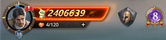 Lord niveau 38 avec 2406639 de prestige
