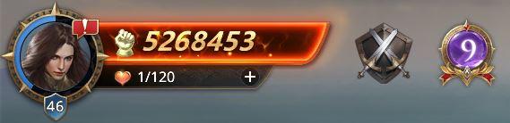Lord niveau 46 avec 5268453 de prestige