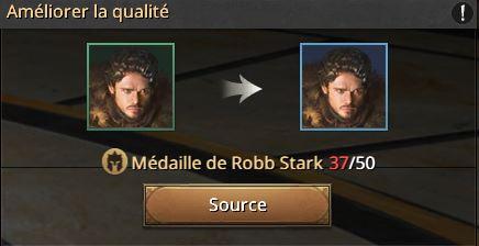 Médailles de Robb