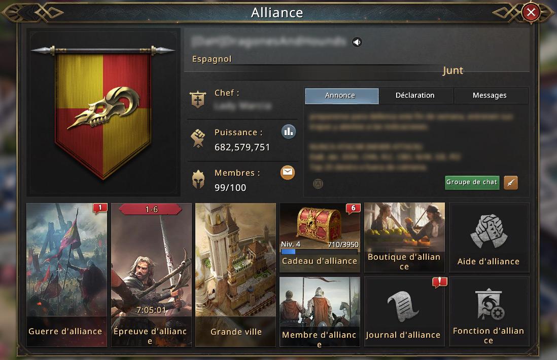 Menu alliance