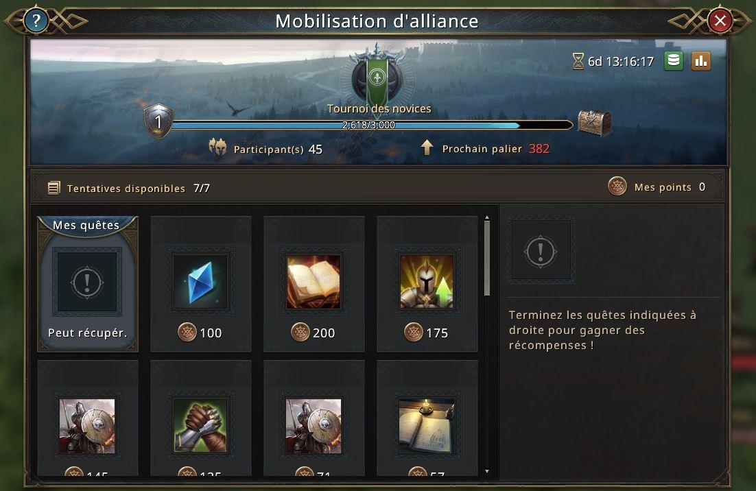 Mobilisation d'allaince