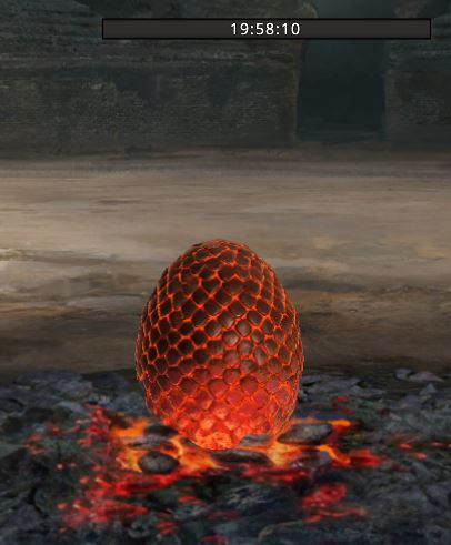 Oeuf de dragon chrono