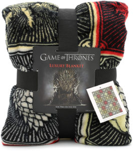 Couverture Game of Thrones armoiries