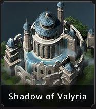 Apparence de château Ombre de Valyria