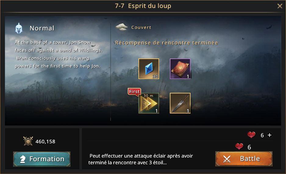 Episode 7-7 Esprit du loup